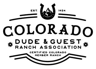 Colorado Dude and Guest Ranch Association Logo