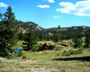Colorado Disc Golf Course at Sundance Trail Guest Ranch