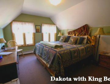 A view of Dakota room.