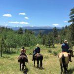 dude ranch photos riders colorado family adventure vacation