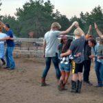 dude ranch photos square dancing colorado family adventure vacation