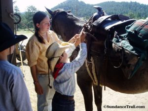 learn to tack on your Colorado horseback holiday