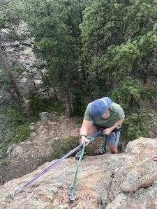 Family Guest Ranch Vacation Rock Climbing