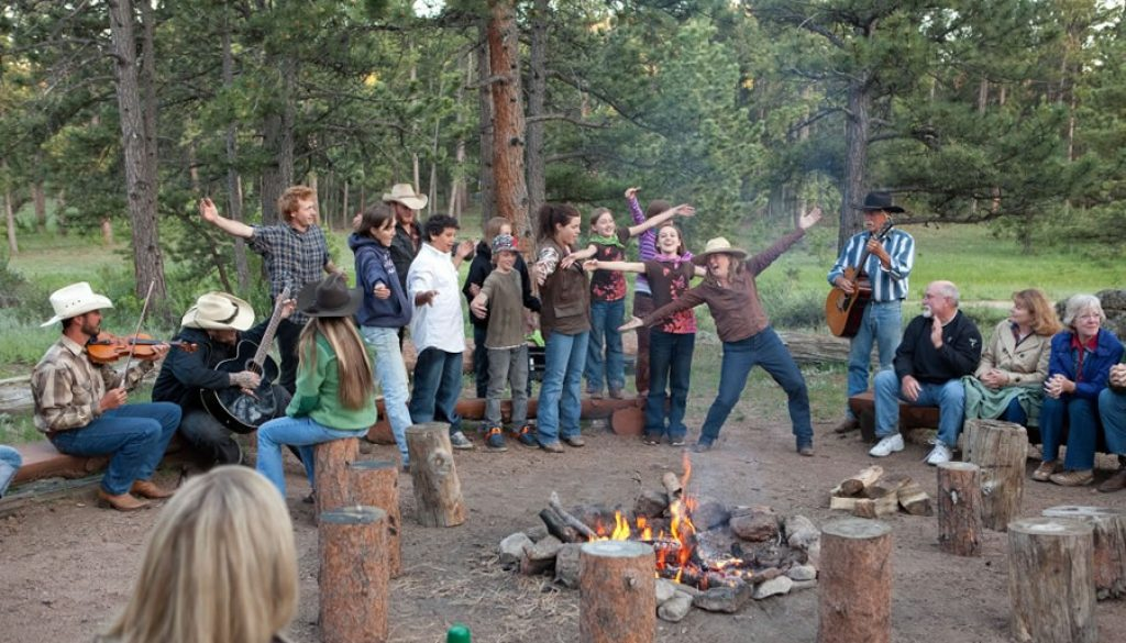 Dude Ranch Family Reunions Campfire Kids