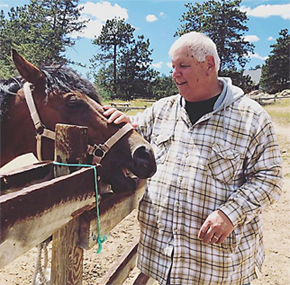 All guests are afforded an opportunity to connect with their horse