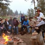 dude ranch photos campfire colorado adventure vacation