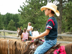 Dude Ranch - an affordable all inclusive family vacation in Colorado